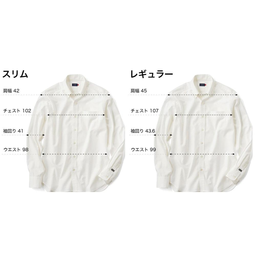 SCENE(R)/シーン 7DAYS ジャパンメイドシャツシリーズ オーガニックオックス レギュラー
