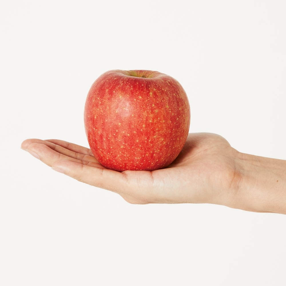 「KONBU(R)-N」 軽量トートバッグシリーズ 中 りんご約1個分の軽さ! 中サイズは約27gと、一般的なリンゴ約1個分と同じくらい。荷物が多い人の強い味方です。