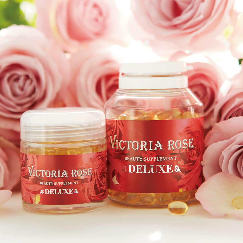 ビクトリアローズDX(デラックス) 200粒 澤口先生曰く「薔薇の香りは女性の味方」 女性美の象徴として知られる薔薇。この香りが漂う環境に身を置くと女性の魅力がより高まるといわれています。薔薇の香りを纏うことは美しいエイジングという観点から見ても非常におすすめです。