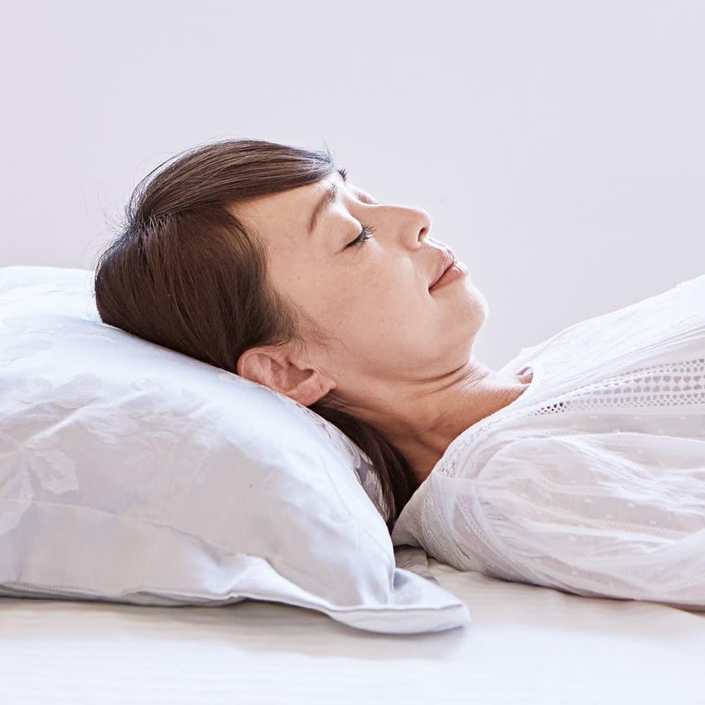 リンクルケア 美容枕110° 使用前