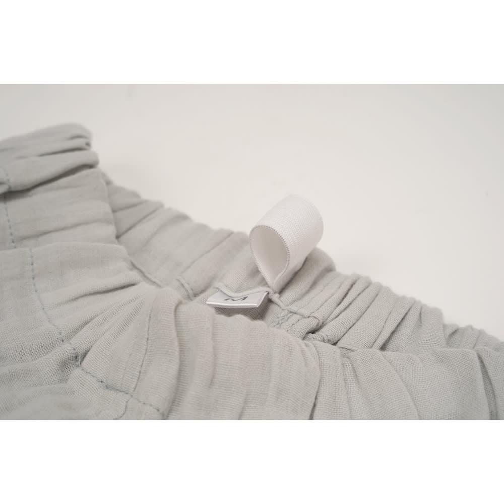 綿100% 二重ガーゼルームウェア