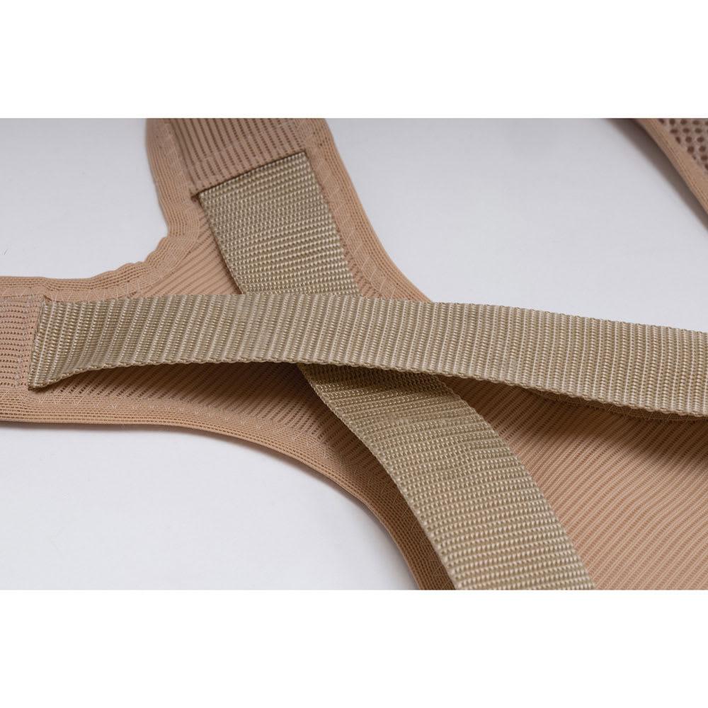 肩甲骨ストレッチベルト ベルトが動くので体系日合わせてフィットします。
