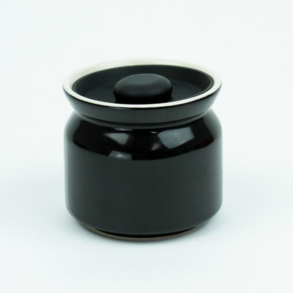 シリコンリッドジャー SILICON LID JAR ブラック ブラックベリージャムをイメージしたブラック