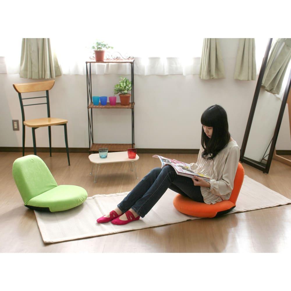 ポップチェア ソフィア【座椅子】 使用例