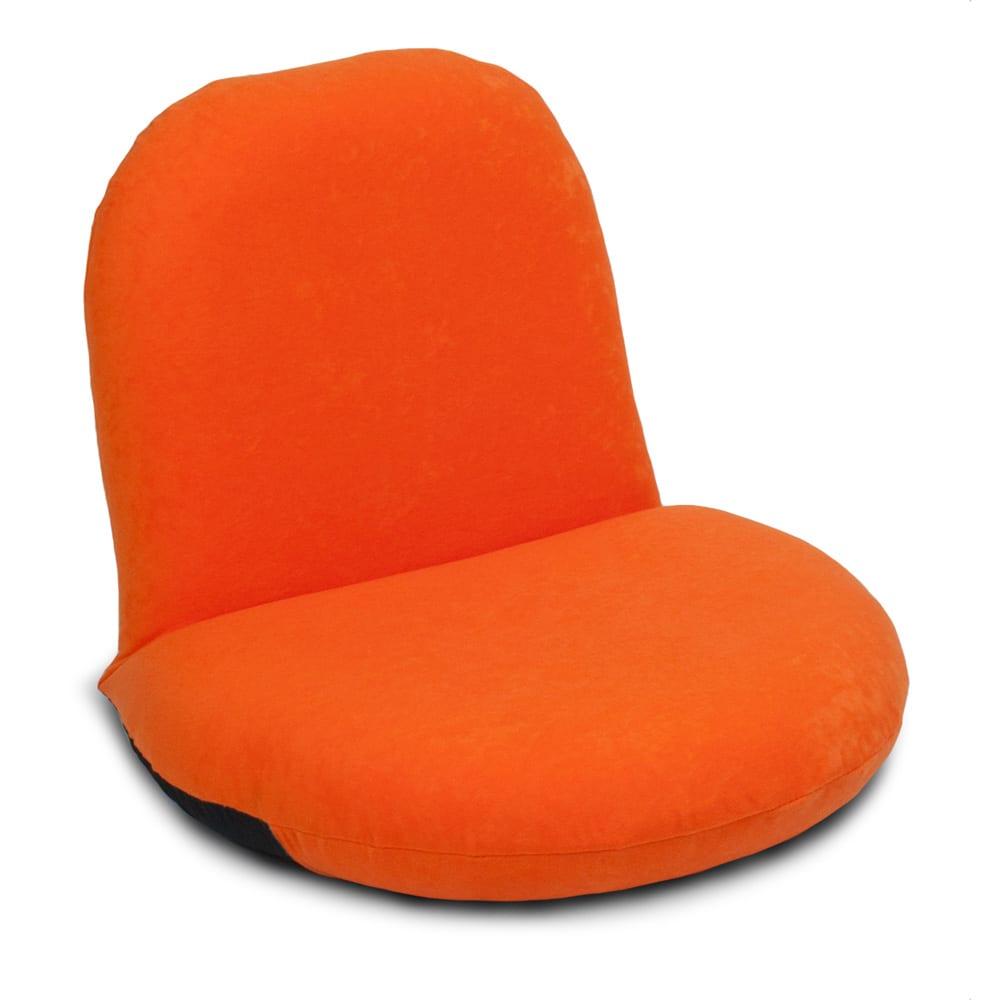 ポップチェア ソフィア【座椅子】 (イ)オレンジ