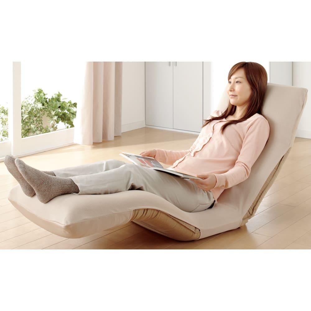 ネオボディサポートチェア幅65cm専用 洗えるさらさらカバー (座椅子カバー) 夏場でも快適に使用できます。