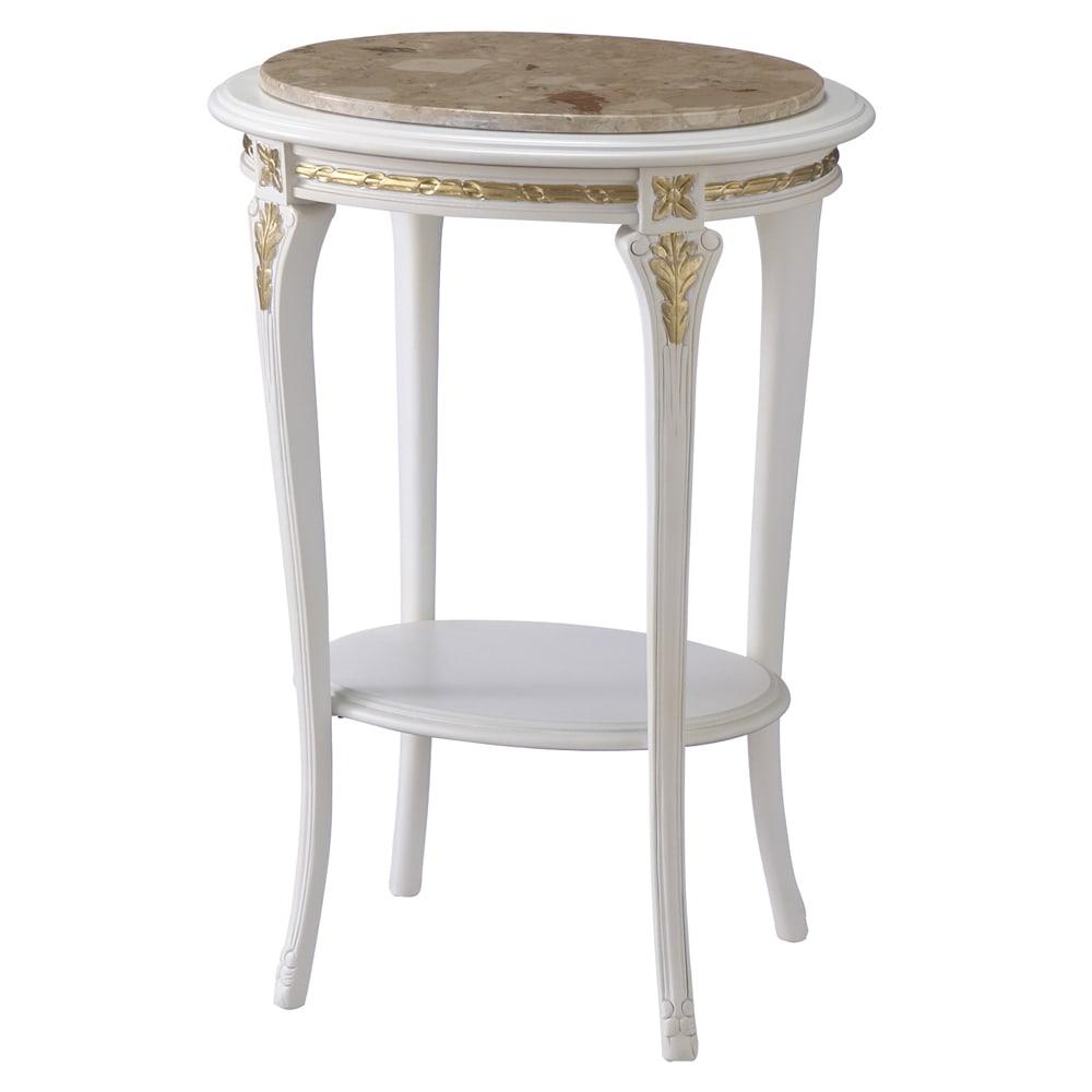 イタリア製人工大理石天板コンソール 樹脂と天然の大理石を贅沢に使用して成型した人工大理石製天板テーブル。