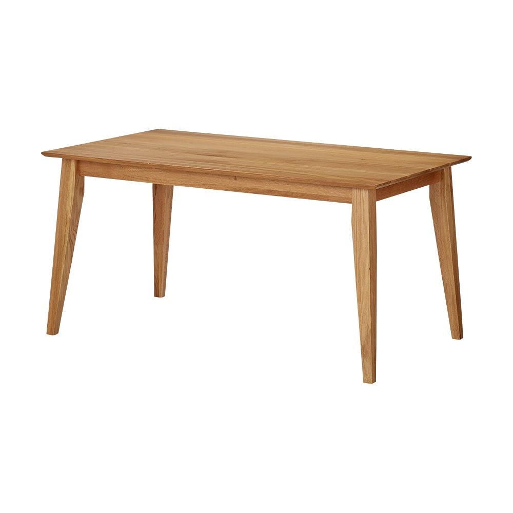 北欧スタイルダイニング テーブル 幅140cm (ア)ナチュラル