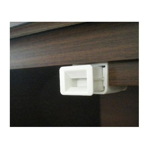 サイズオーダー薄型収納 幅・高さEO隠し引き出し奥行25cm左開き 扉にプッシュラッチを採用。確実かつスムーズに開閉できます。