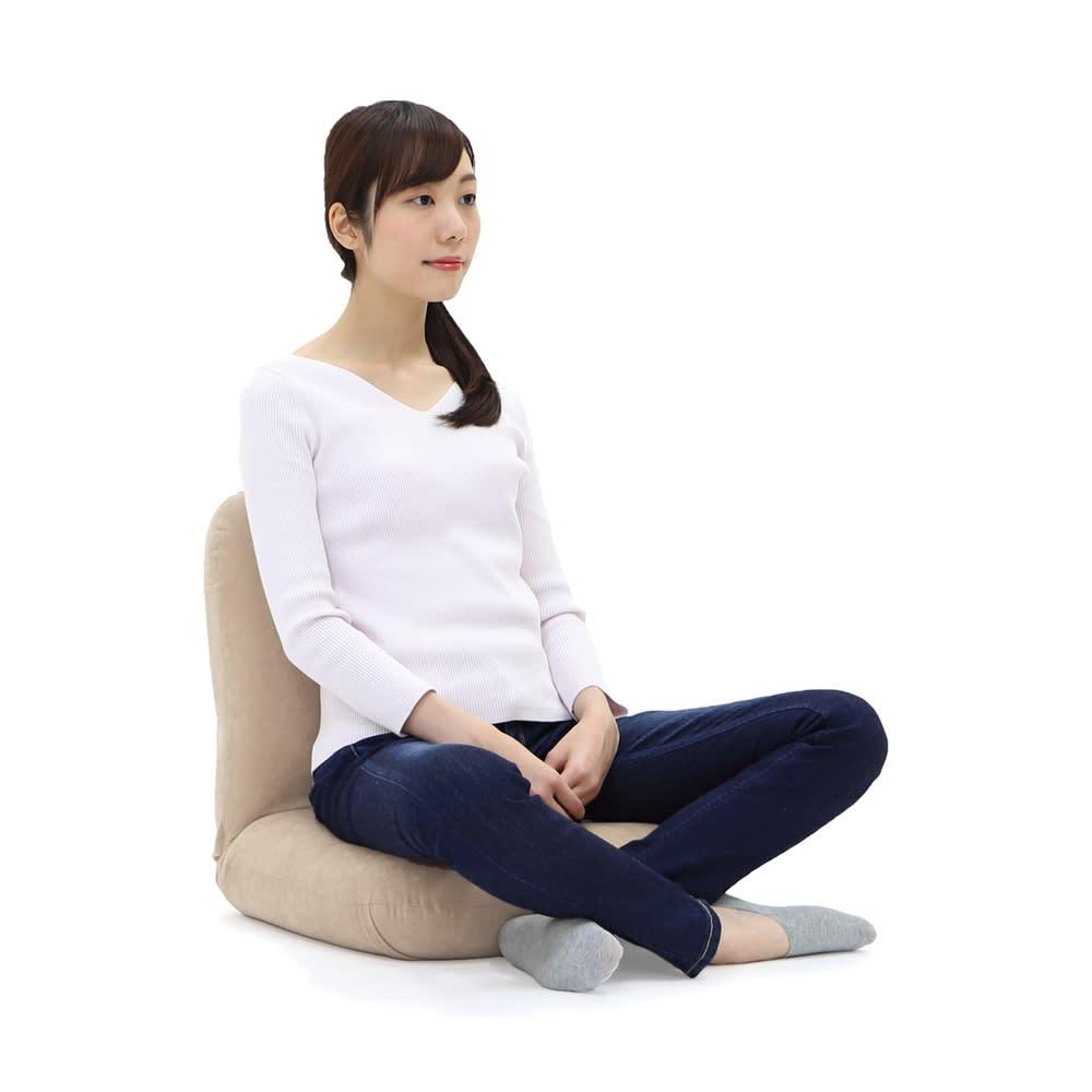 産学連携 あぐら座椅子 あぐら姿勢をサポート。