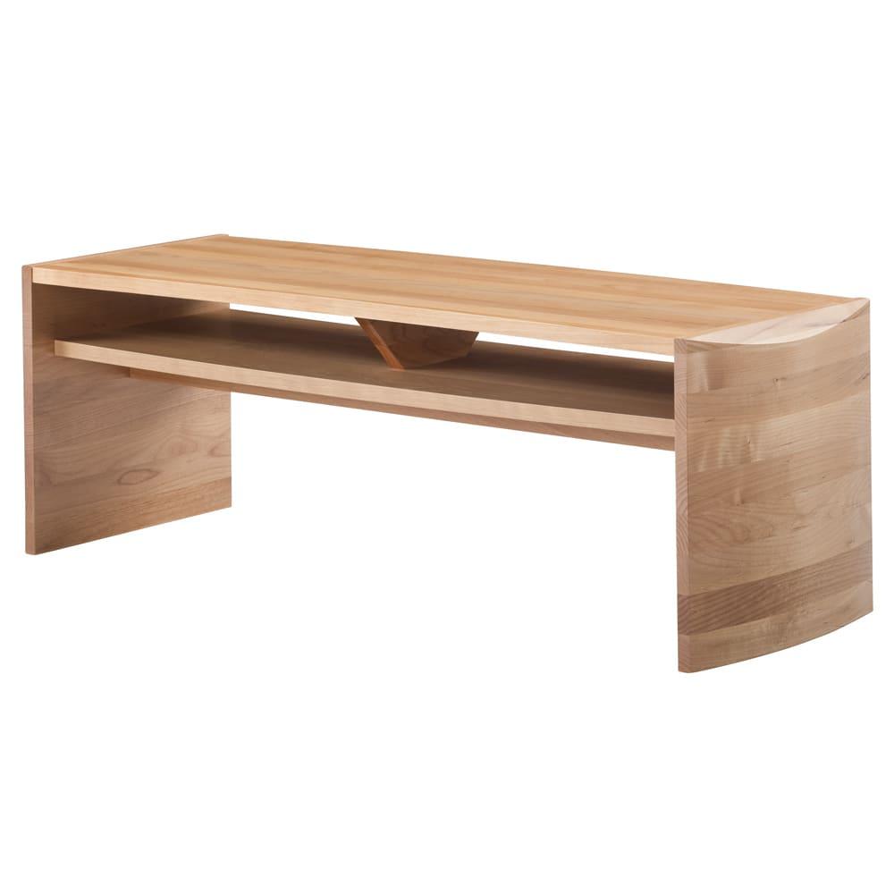 アールデザインセンターテーブル 幅110cm (ア)ライトブラウン