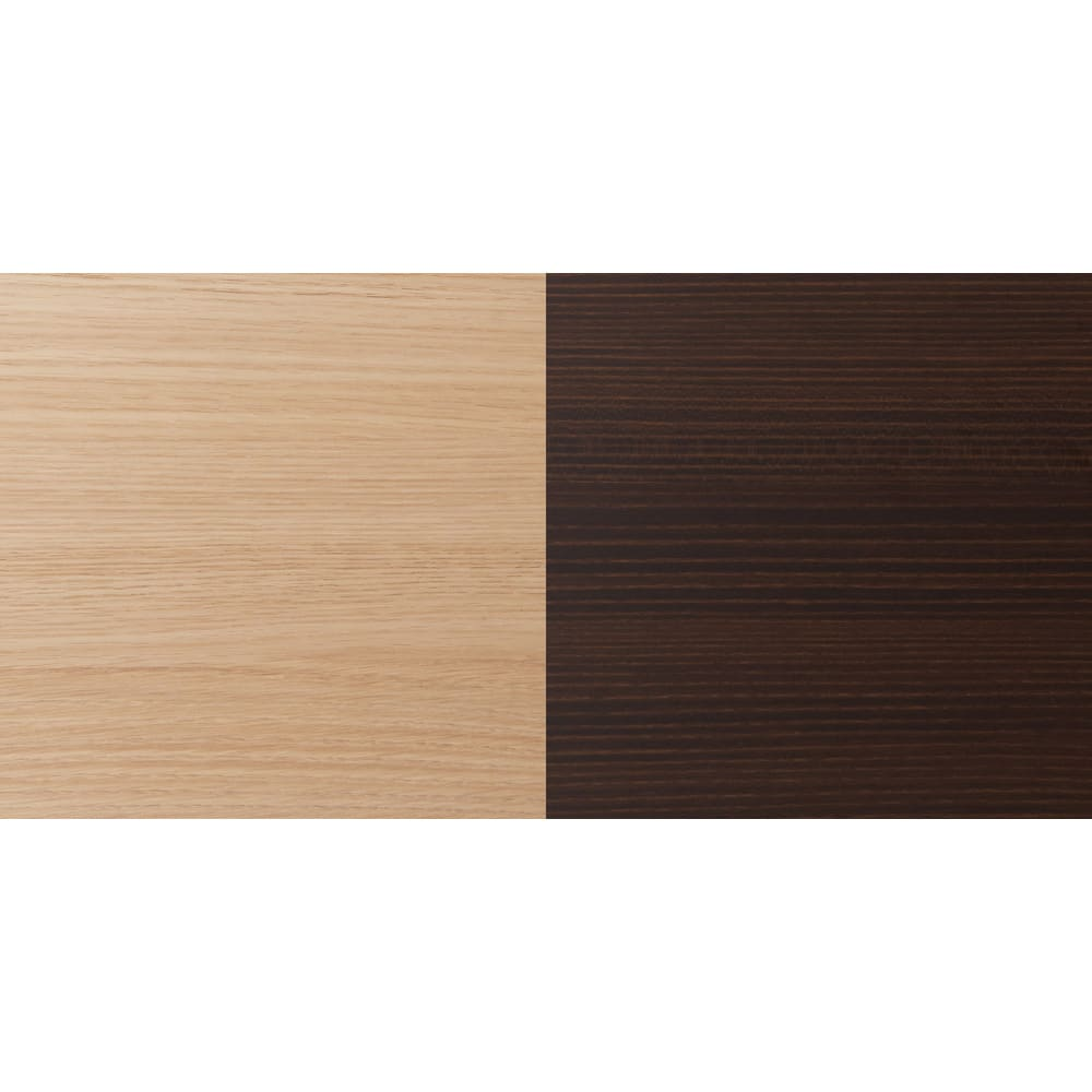 ギャラリー壁面収納 洗練デザインのリビングカウンター収納シリーズ 下台 扉タイプ 幅80cm [パモウナ YA-80] (ア)ナチュラルと(イ)ダークブラウンは木目がある素材です。触ると立体感もあるリアルな素材。傷・汚れに強いオレフィン化粧合板。