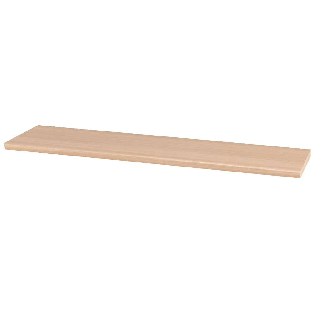 ギャラリー壁面収納 洗練デザインのリビングカウンター収納シリーズ 幅サイズオーダー天板 幅111~170cm [パモウナ YA-S2T] (ア)ナチュラル色見本