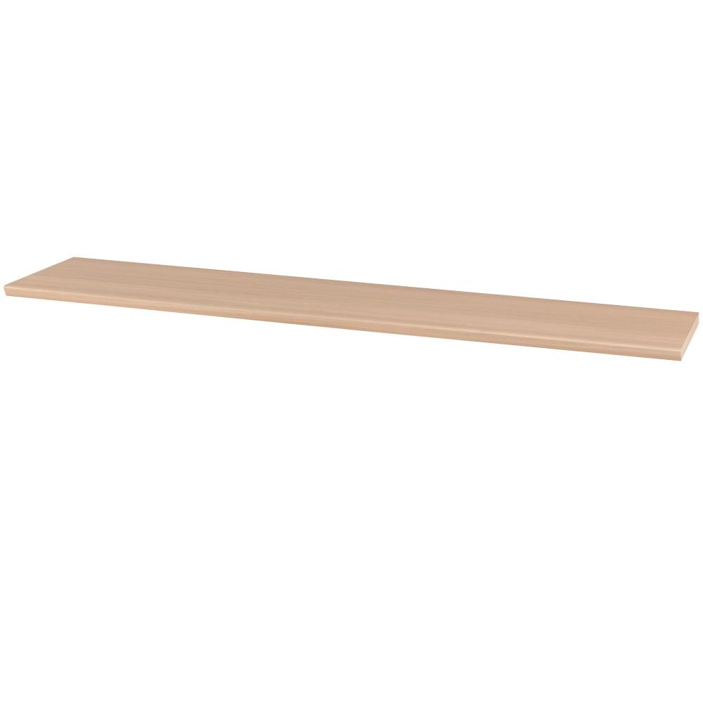 ギャラリー壁面収納 洗練デザインのリビングカウンター収納シリーズ 幅サイズオーダー天板 幅171~240cm [パモウナ YA-S3T] (ア)ナチュラル色見本
