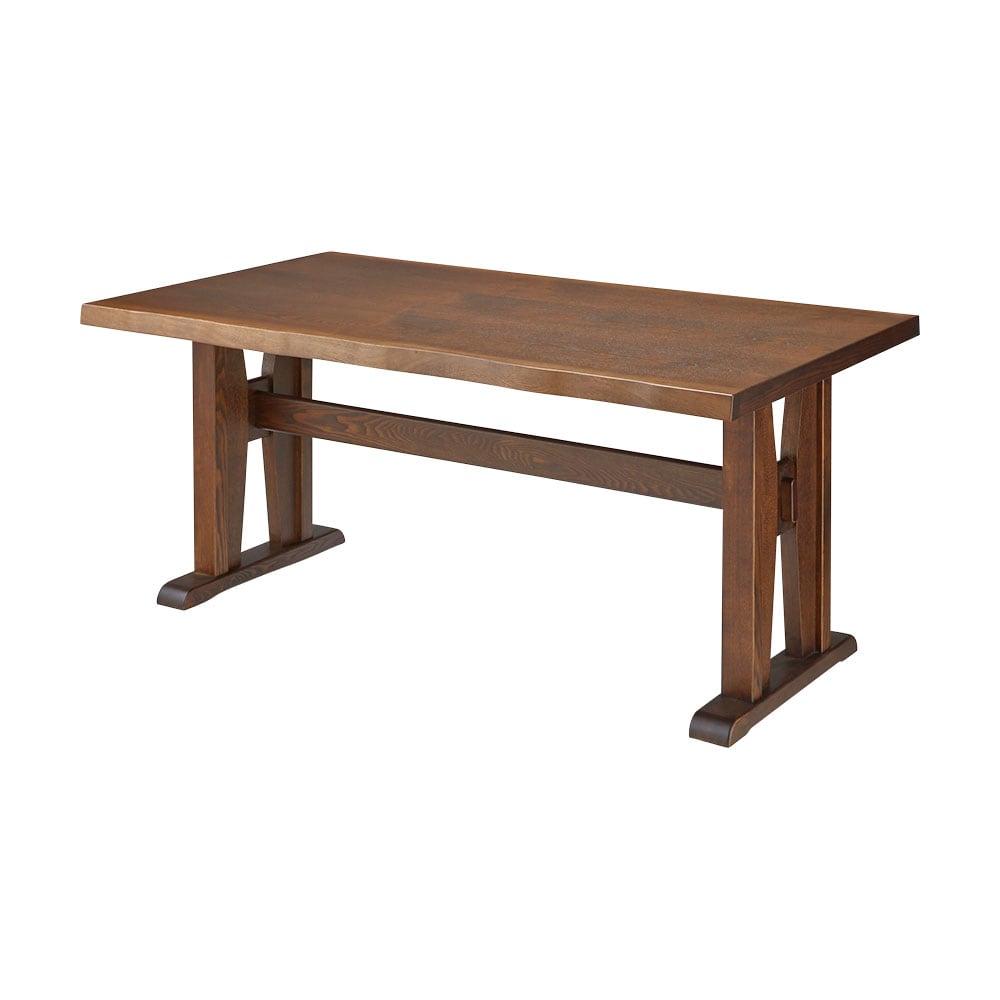 和モダンダイニング ダイニングテーブル 幅160cm (ア)ダークブラウン