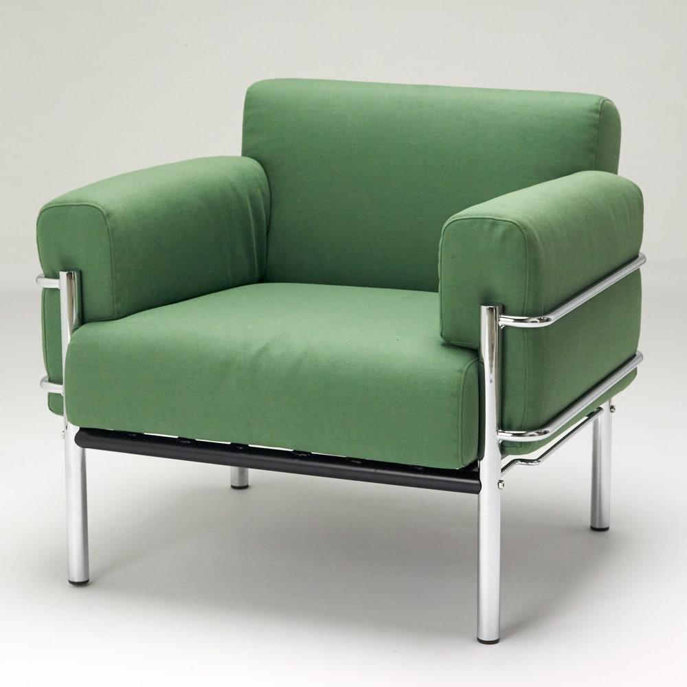 innovator(イノベーター家具) 116ソファ シングル(1人掛け) シングルタイプイメージ ※お届けはダークブラウンとなります。