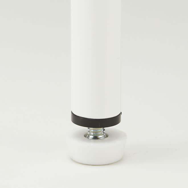 レンジ上を活用できる伸縮キッチンラック 2段(高さ70cm) 幅52~84cm