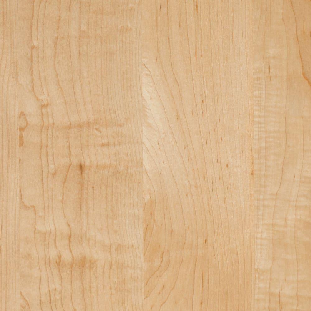 天然木調隠せる家電収納キッチンカウンター 奥行45.5cm (イ)ナチュラル ナチュラルは明るく開放感のある印象を演出。