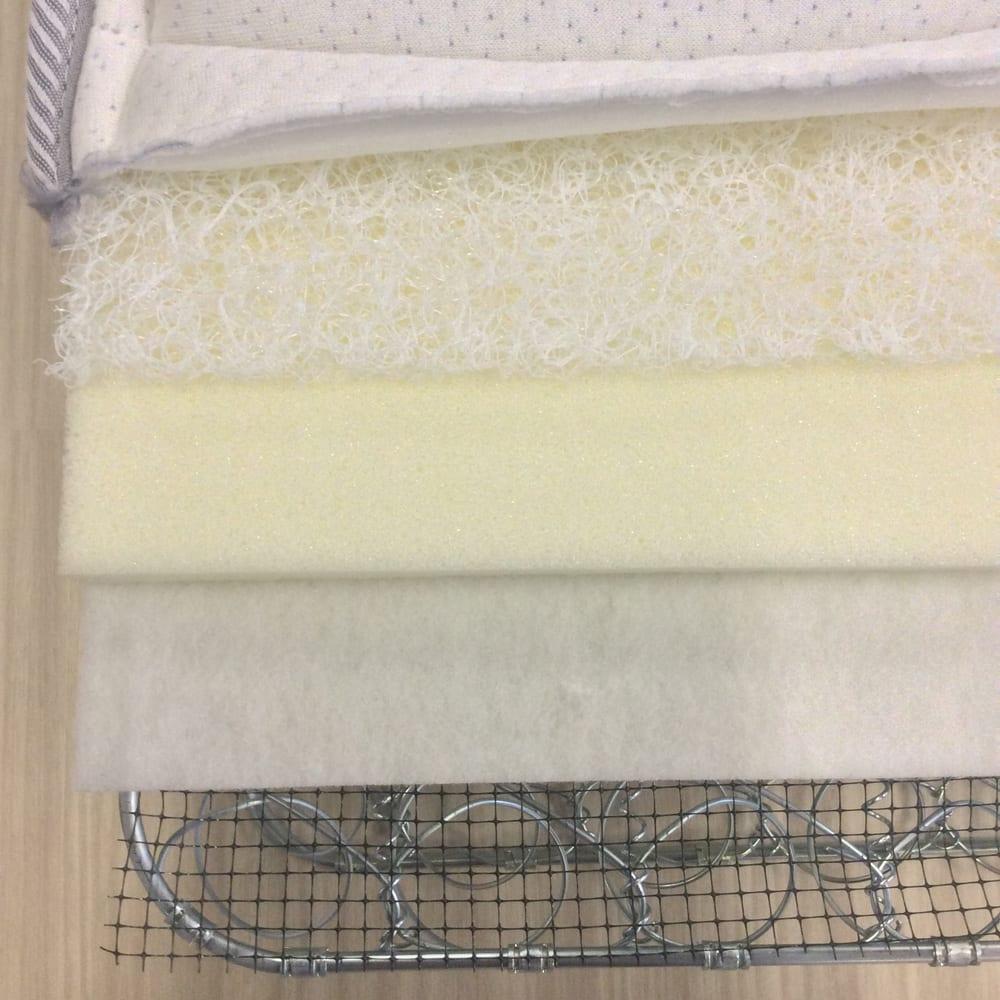フランスベッド×東洋紡 「ひと肌」のやさしさクラウディアマットレス デラックスダブル