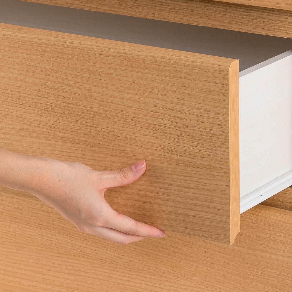 組立簡単チェスト4段 幅60高さ112cm