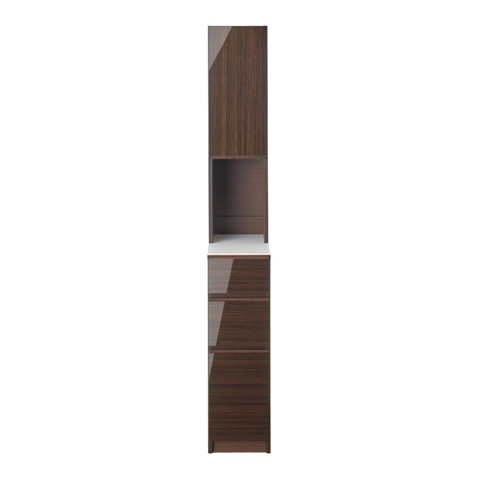 Gaelio/ガエリオ 人工大理石天板 キッチンすき間収納 幅25cm奥行45cm高さ170cm