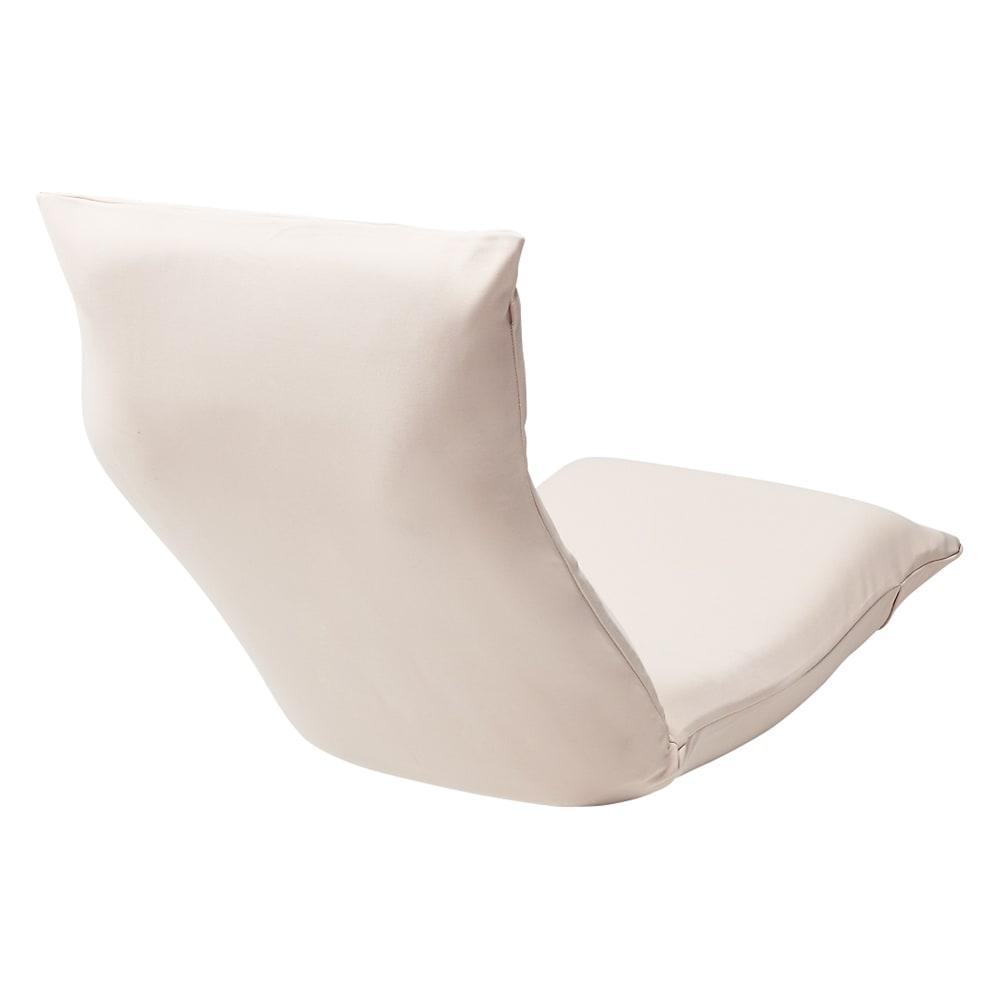 「サイズを選べる」腰にやさしいリラックスシリーズ チェアL専用洗えるカバー 使用イメージ(ア)ベージュ