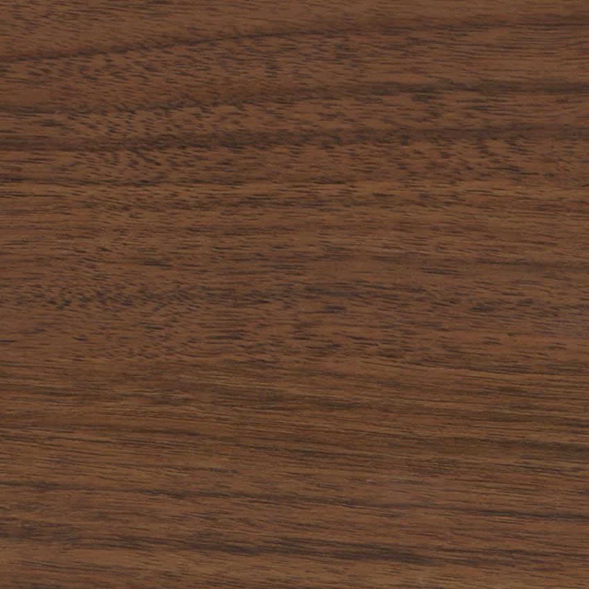 Simmons シモンズ カーブ引き出し収納ベッド 5.5インチ レギュラーマットレス(RG) (ウ)ミディアムブラウン色見本。
