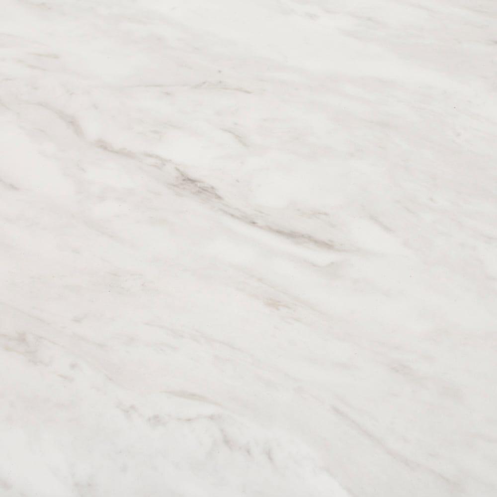 Milia/ミリア 大理石調 キッチン収納ラック ハイ 幅63.5cm 天板・棚板は高級感のあるマーブル模様。