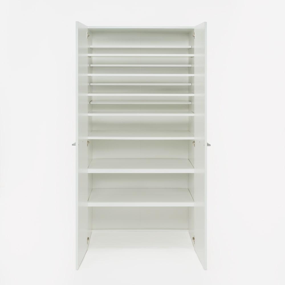 清潔に安心して使える 食器からストックまで入るキッチンパントリー収納庫 幅90奥行55cm