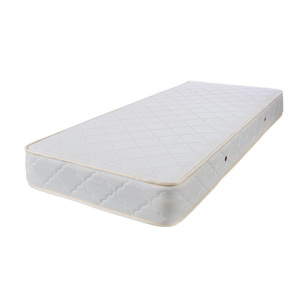 省スペース対応コンパクトチェストベッド(西川ベッドボンネルコイルマットレス付き) ショート【幅86cm・長さ184cm】 【品質に優れたこだわりの国産マットレス】西川ベッドとディノスの共同企画。2.5mm線径のボンネルコイルスプリングを採用し、快適な寝心地を追及しました。