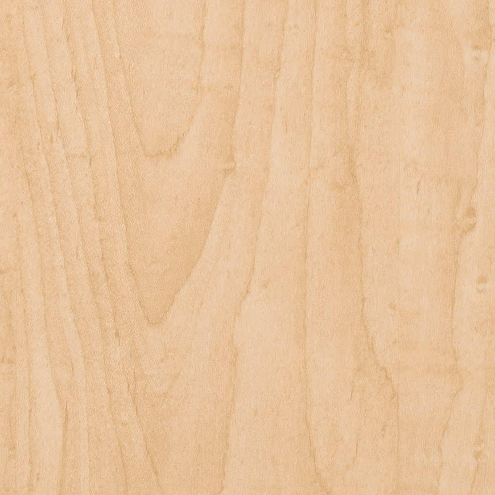 棚板の位置が選べる本棚(幅90cm本体高さ180cm) 素材アップ:(イ)ナチュラル 北欧スタイルにマッチするナチュラル。