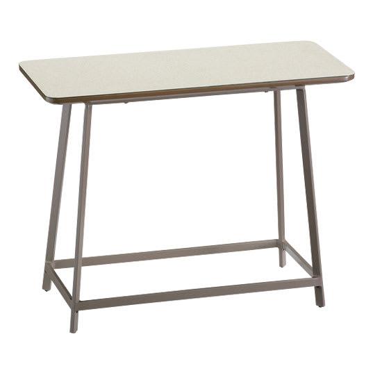 Hellen/ヘレン セラミック調サイドテーブル 角型 アイボリー