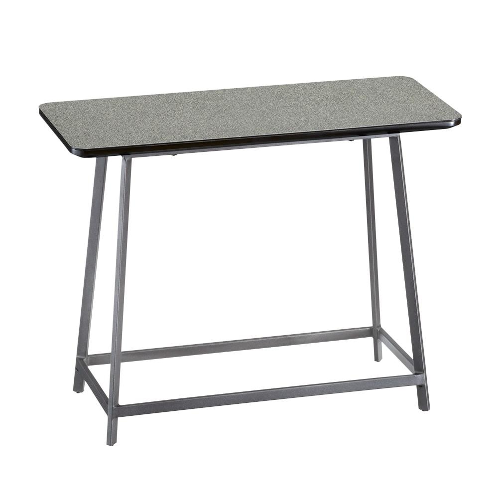 Hellen/ヘレン セラミック調サイドテーブル 角型 ブラック