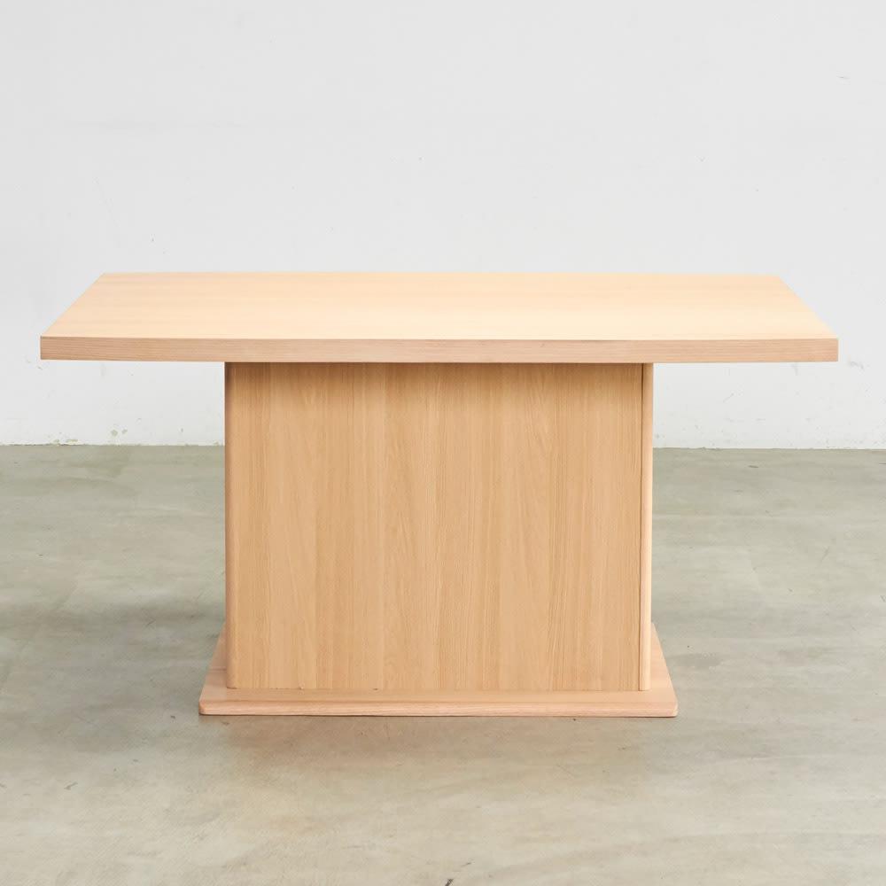 Portale/ポルターレ 収納庫付きテーブル 幅140cm 背面