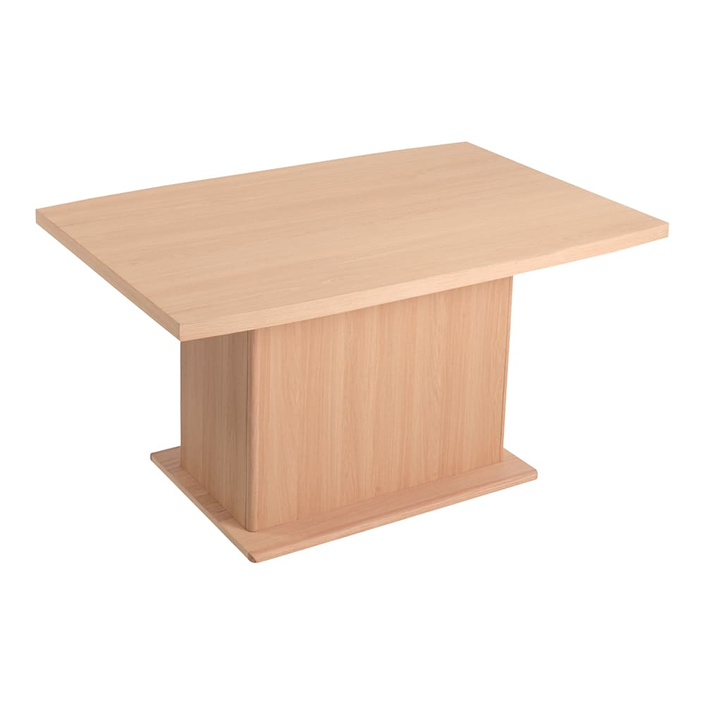 Portale/ポルターレ 収納庫付きテーブル 幅140cm (イ)ナチュラル 背面