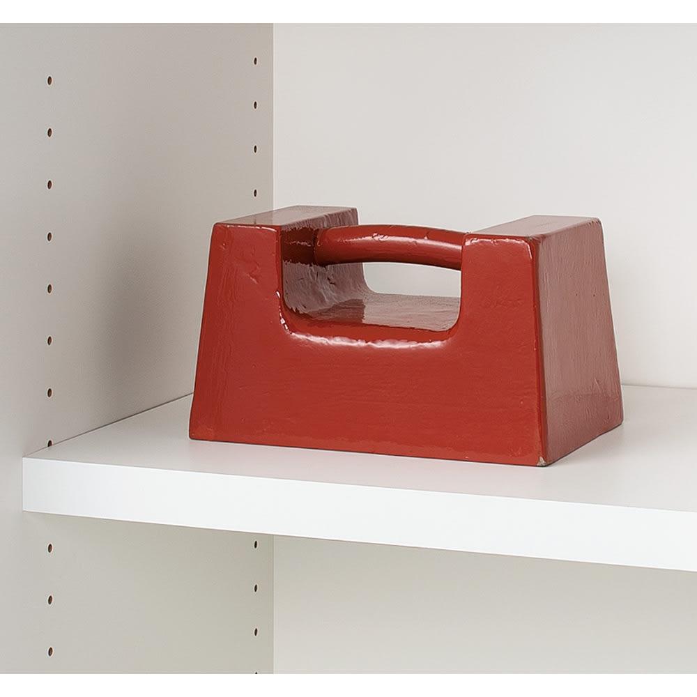 収納性が自慢の引き戸式本棚 幅120本体高さ228cm 重い物も載せられる頑丈棚板。(写真はイメージ)