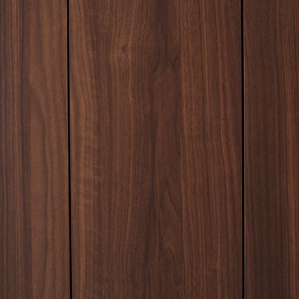 Gamlin/ガムリン 家具調ダストボックス 2分別 ウォルナットのようなリアルな木目の表面材を使用しています