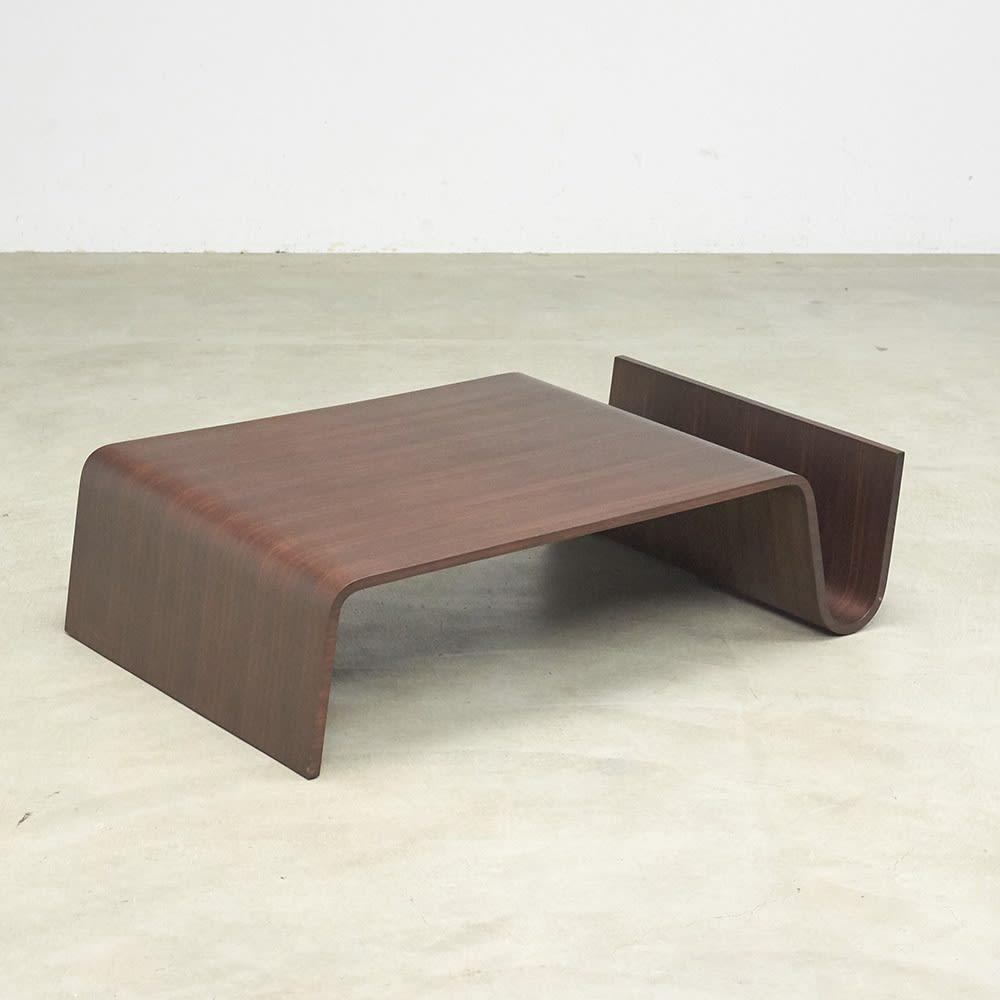 Poski/ポスキ デザインリビングテーブル ナチュラル 商品全体イメージ