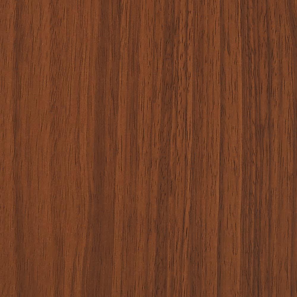棚板の位置が選べる本棚(幅118cm本体高さ180cm) 素材アップ:(ア)ダークブラウン 落ち着いた雰囲気のダークブラウン。