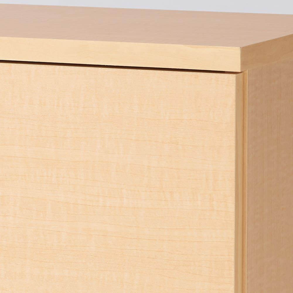 全部引き出し カウンター下収納庫 幅120cm (ア)ナチュラル 温かみのあるおしゃれなリビングルームに。