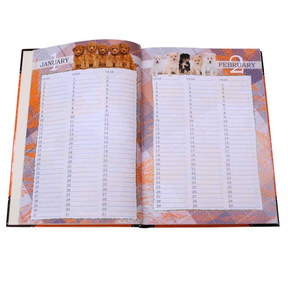 3年日記ラブリーパピー(名入れ有)