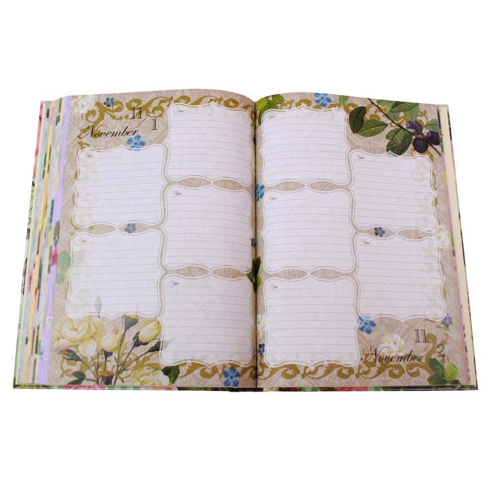 5年日記バラの宮廷画家(名入れ有)