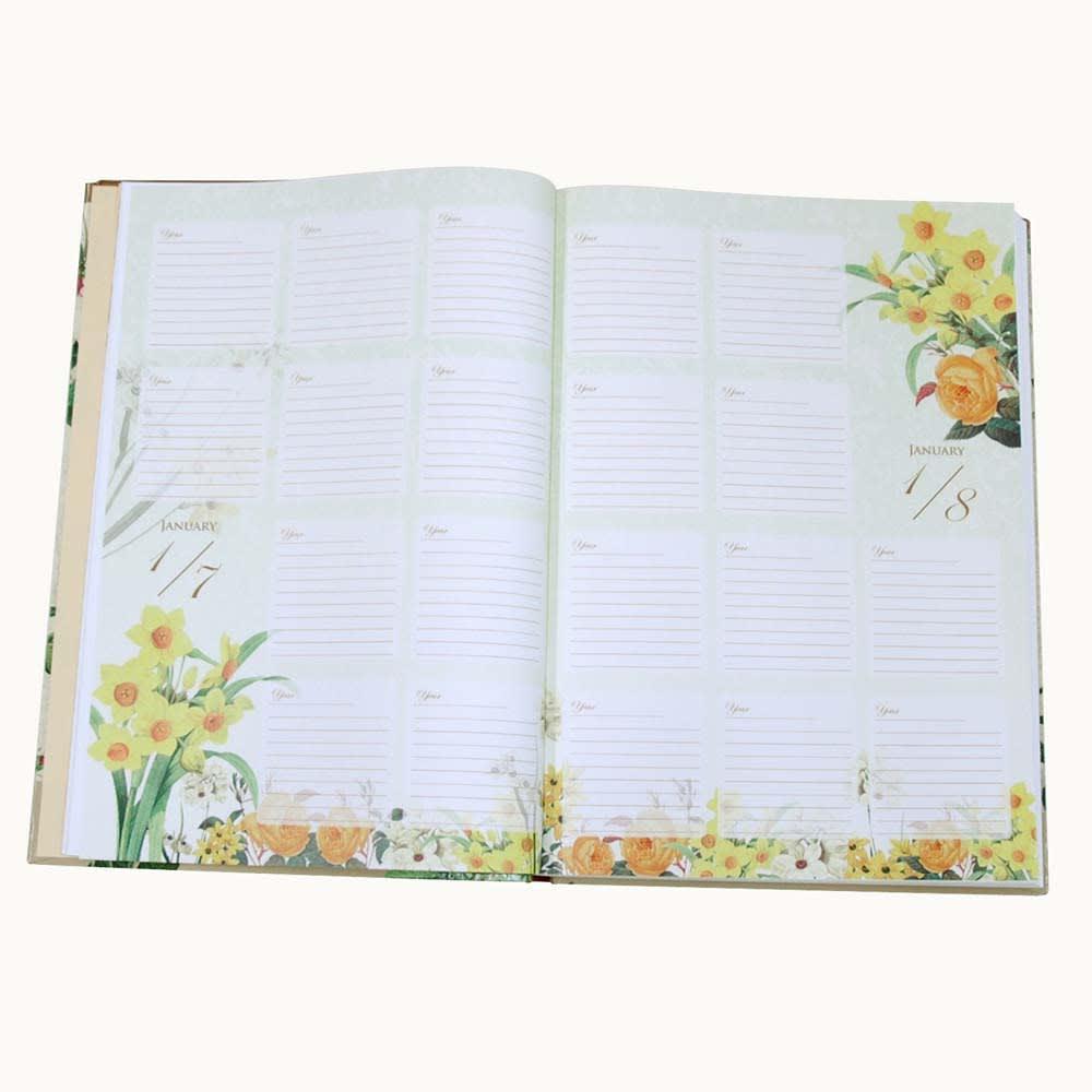 10年日記フラワーコレクション(名入れ有)