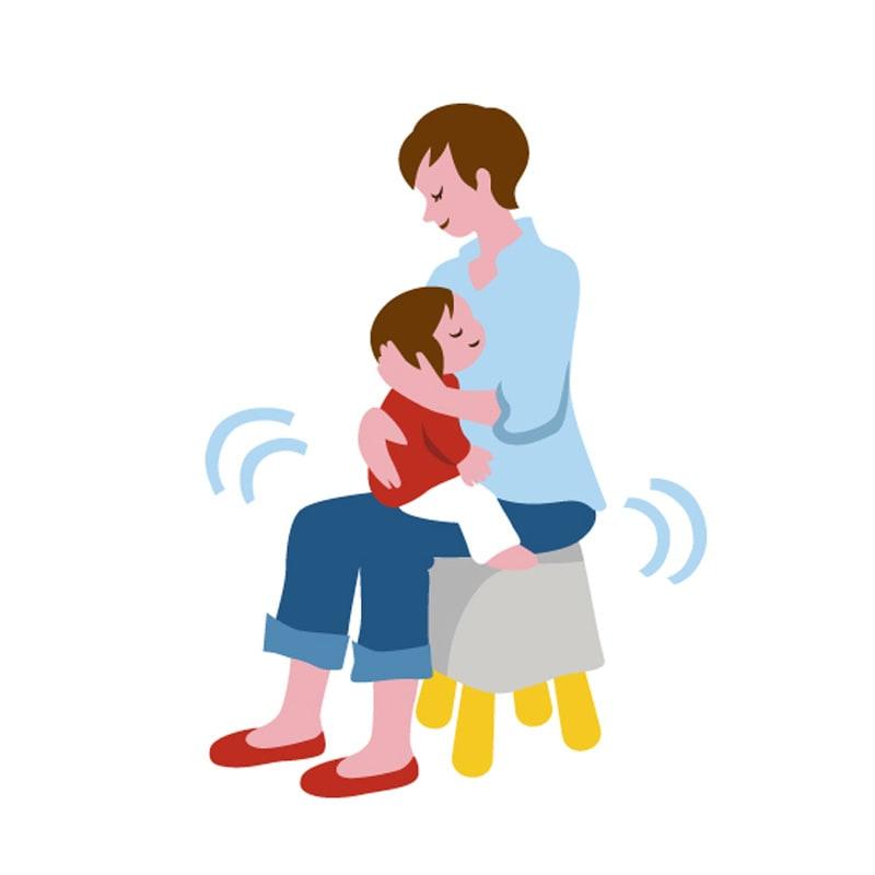 LaLaCo/ララコ チェア 座ったまま寝かしつけがこれからのスタンダード。家族みんなで育児に参加しやすくなります。