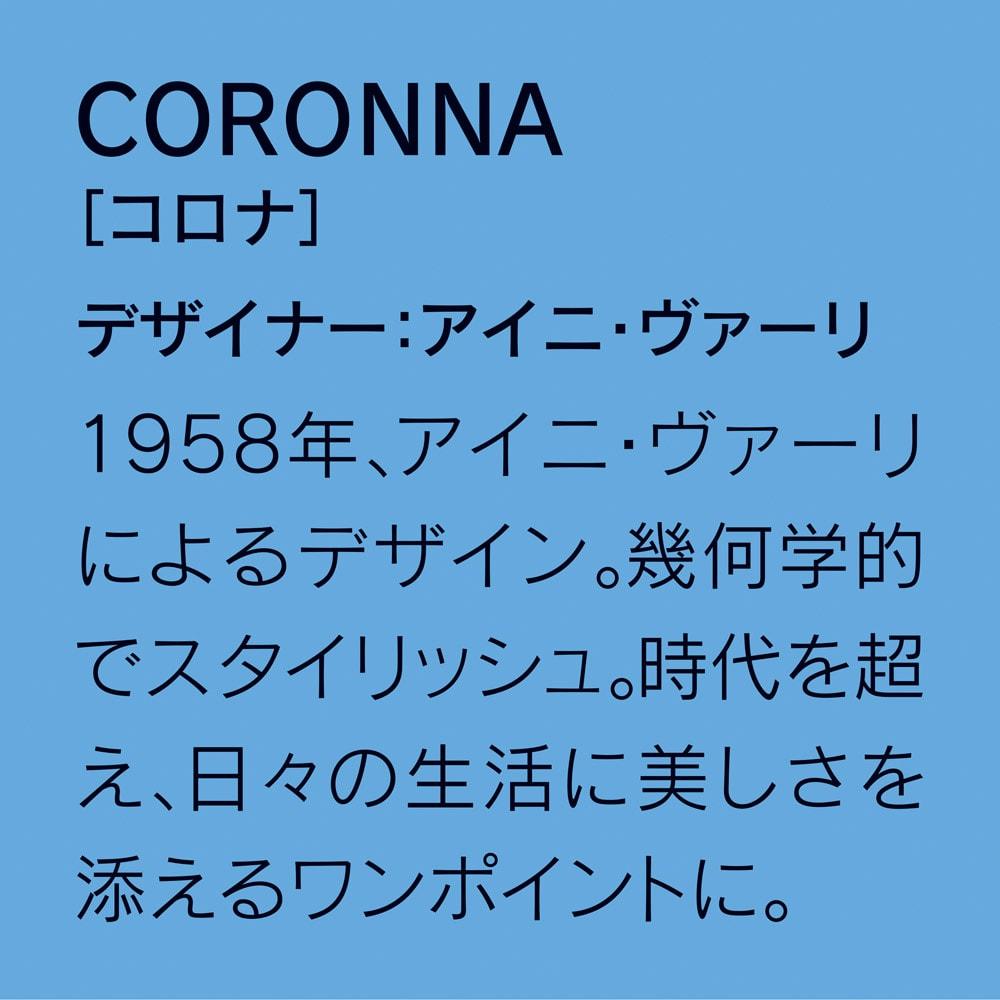 Finlayson/フィンレイソン 水に強い樹脂製多段チェスト スリム/ワイド フィンレイソンの定番にして人気柄のひとつCORONNNAのデザイン説明