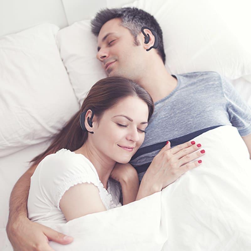 いびきケアアイテム スマートスノアストッパー「スノアサークル」 家族やパートナーの為にも快適な眠りを手に入れましょう。