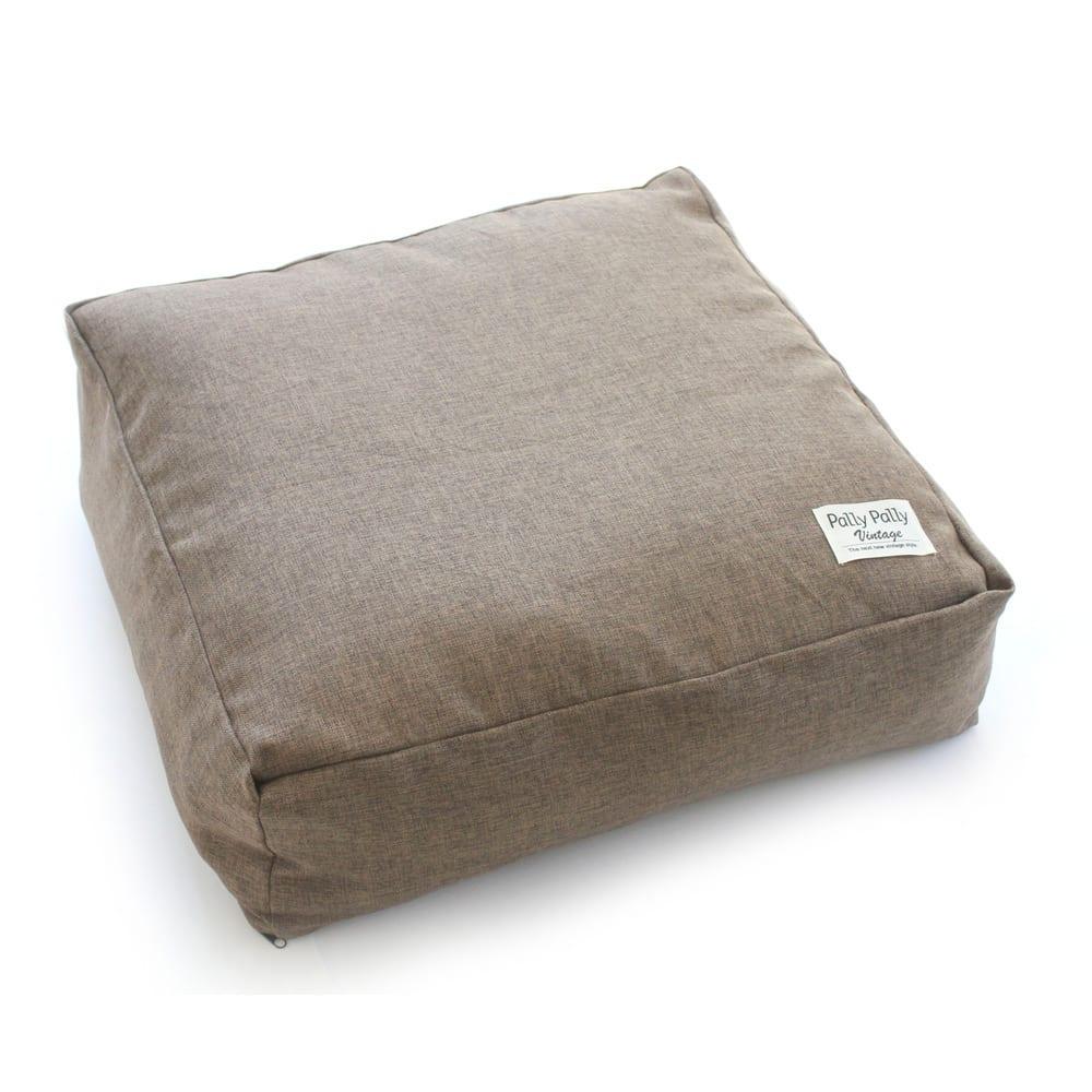 クッションになる布団収納袋 色が選べるお得な2枚セット (ア)ブラウン