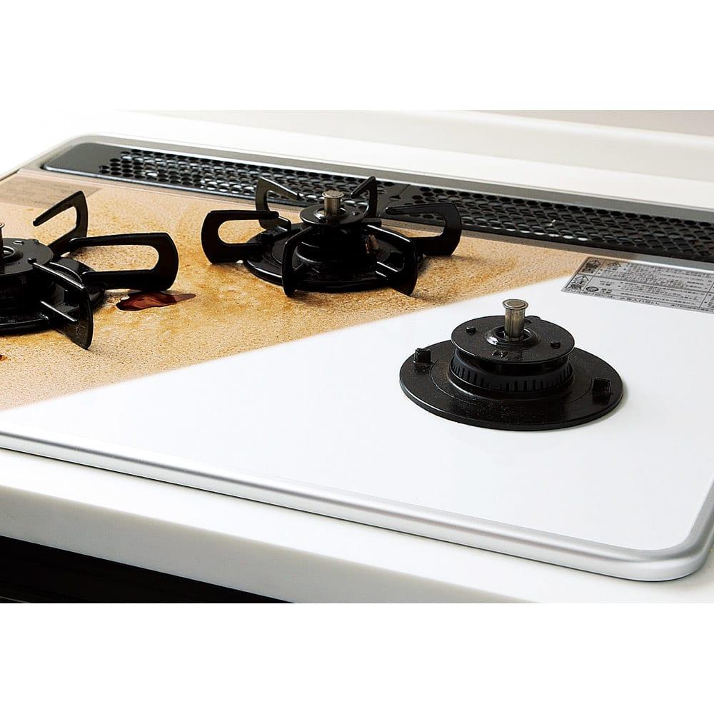 多目的洗剤 アミロンプロ(ホワイトラベル) 2Lセット (コンロ)頑固な焦げもするり。