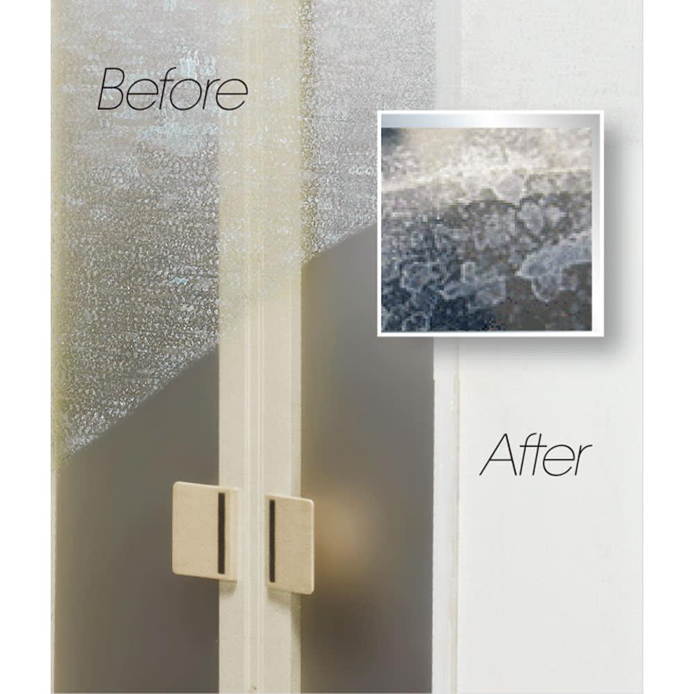 業務用洗剤 いいとこ取り3点セットプロ 標準3点セット ホワイトラベル 鏡 ガラスのくすみに。
