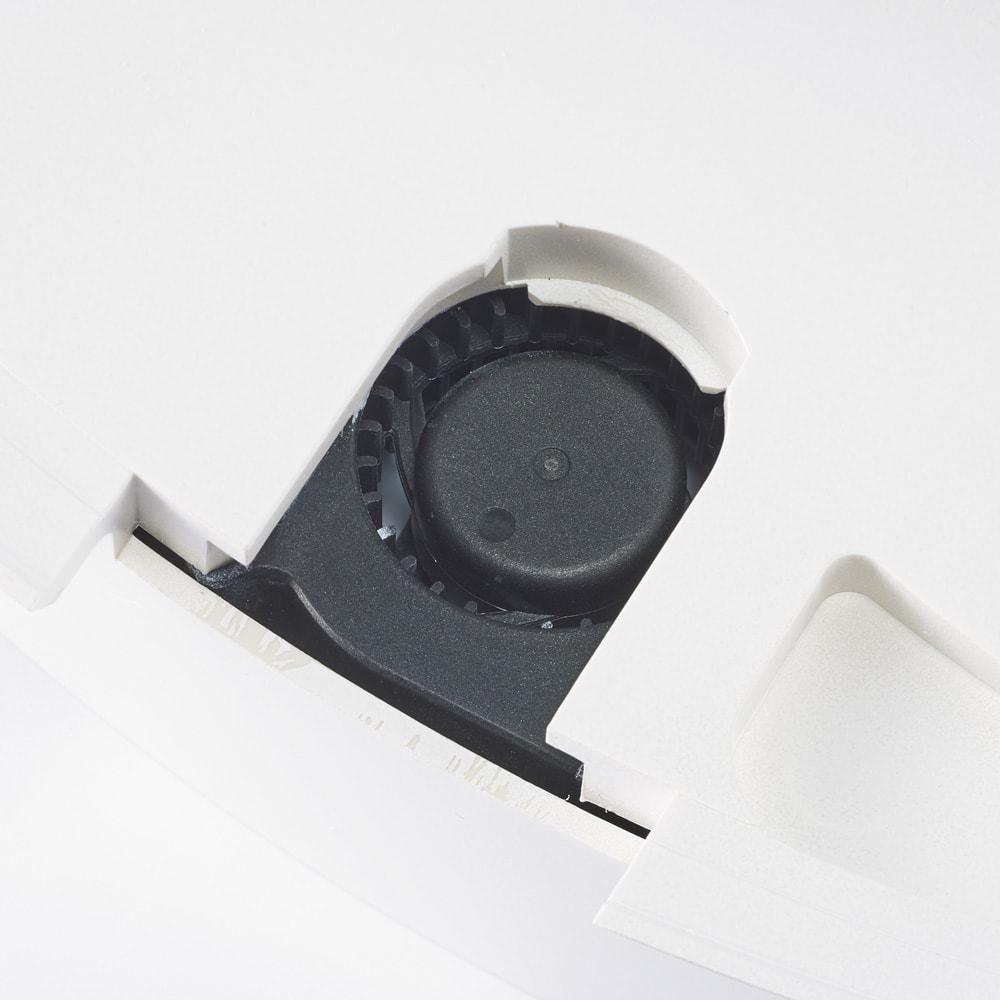 羽根のないシーリングライト LEDスマートシーリングファン 「UZUKAZE」 内蔵された3つのファンで空気をどんどん循環。